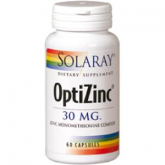 OptiZinc y Vit B6 Solaray, 60 cápsulas
