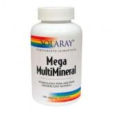 Solaray Mega Multi Mineral  120 capsules