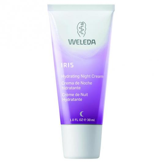 Crema notte idratante Iris Weleda, 30ml