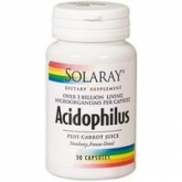 Acidophilus Solaray, 30 capsule