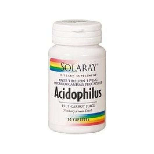 Acidophilus Solaray, 30 capsules
