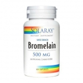 Bromelaina Solaray, 60 capsule