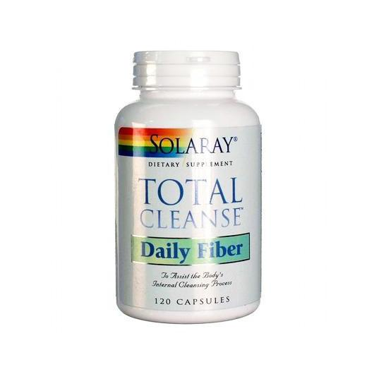 Total Cleanse Daily Fiber Solaray, 120 capsules