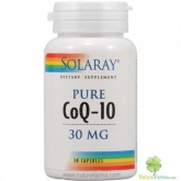 Coenzima Q-10 Pure 30 mg Solaray, 30 capsule