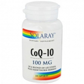 Coenzima Q10 Solaray, 100 mg