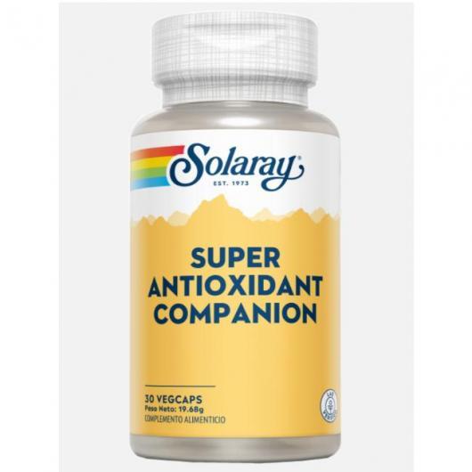 Superantiossidante Companion Solaray, 30 compresse