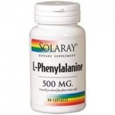 Fenilalanina 500 mg Solaray, 60 capsule