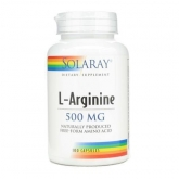 Arginina 500 mg Solaray, 100 capsule