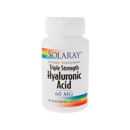 Hyaluronic Acid 60 mg Solaray, 30 cápsulas