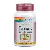 Turmeric 600 mg Solaray, 30 cápsulas