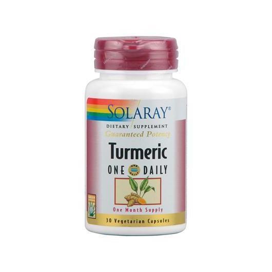 Turmeric 600 mg Solaray, 30 capsule