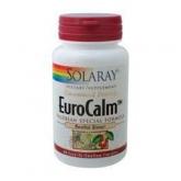 EuroCalm (valériane) Solaray, 60 capsules