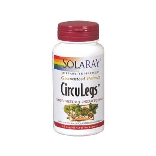 Circuleg Solaray, 60 capsule