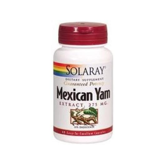 Mexicam Yam 275 Solaray, 60 capsule