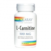 Carnitina 500 mg Solaray, 30 capsule
