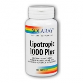 Lipotropic 1000 Plus Solaray, 100 capsule