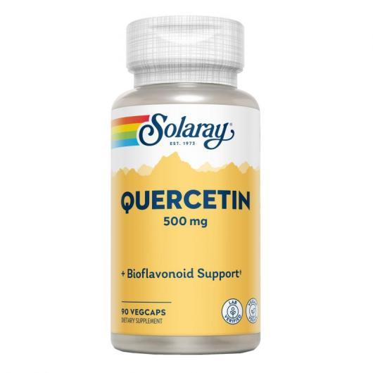 Quercitin Non citru Solaray, 90 capsule