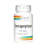 Serrapeptase 10 mg Solaray, 90 cápsulas