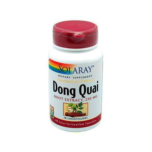 Dong Quai Solaray, 60 capsules
