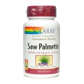 Saw Palmetto (Baie de Sabal) Solaray, 60 capsules