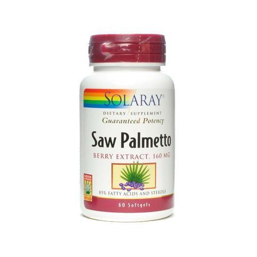 Saw Palmeto Solaray, 60 capsule