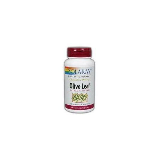 Olive Leaf Solaray, 30 capsule