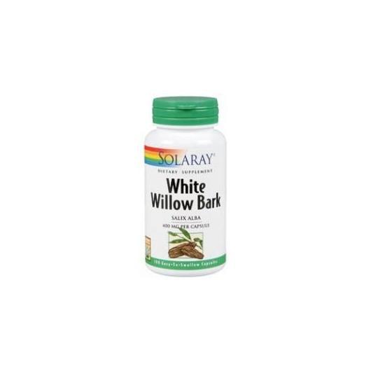 Ecorce de saule blanc (Sauce) Solaray, 100 capsules