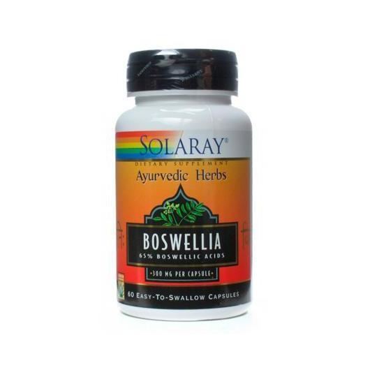 Boswelia 300 mg Solaray, 60 cápsulas
