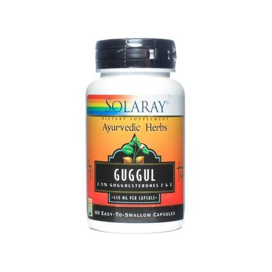 Guggul 500 mg Solaray, 60 caspule