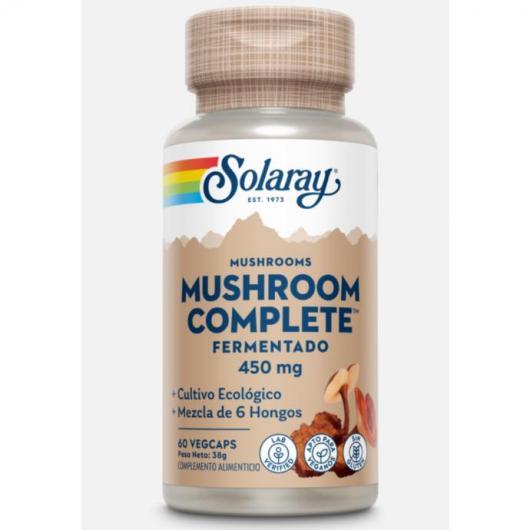 Mushroom Complete Solaray, 60 capsule