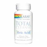 Total Cleanse Acido Urico Solaray, 60 capsule