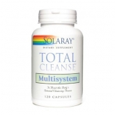 TOTAL CLEANSE MULTISYSEM 120 CAPSULAS SOLARAY