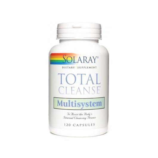 Total Cleanse Multisysem Solaray, 120 capsule