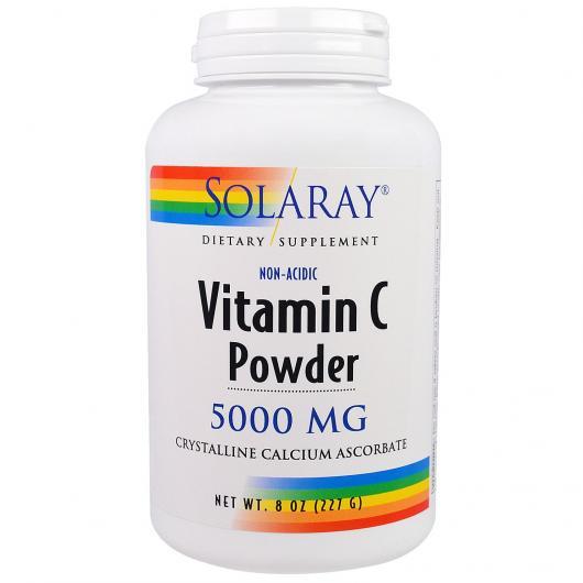 Vitamina C Crystalline Nonacid Solaray, 90 capsule