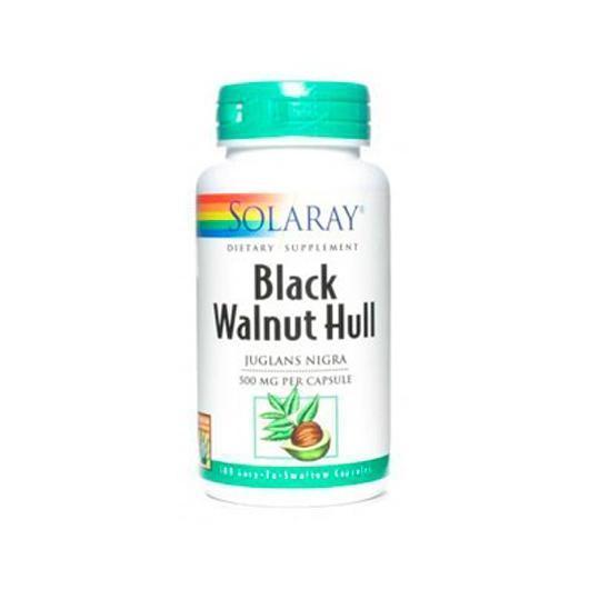 Black Walnut Hull (Noyer noir) Solaray, 100 capsules
