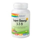 Super Oméga 3-7-9 plus vitamine D3 Solaray, 120 softgels