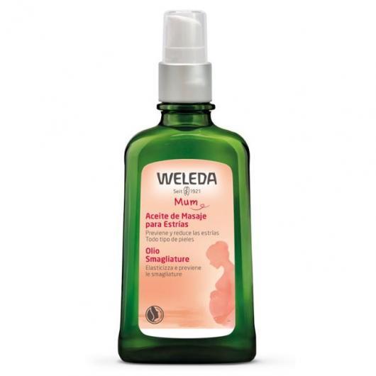 Olio massaggi per smagliature Weleda, 100 ml
