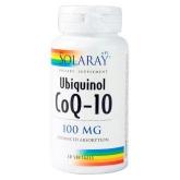 Solaray Co-enzyme Q10 Ubiquinol 100mg 30 capsules