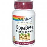 Dopabean Solaray, 60 capsule vegetali