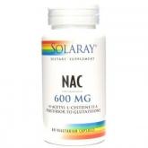 NAC (N-Acetyl-L-Cysteine) 600 mg Solaray, 60 capsules