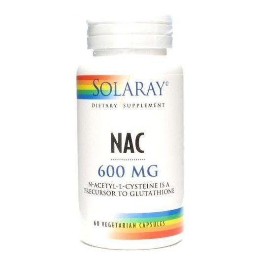 Nac Solaray, 60 cápsulas