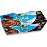 Sobremesa de soja chocolate NaturGreen, 2 x 125 g