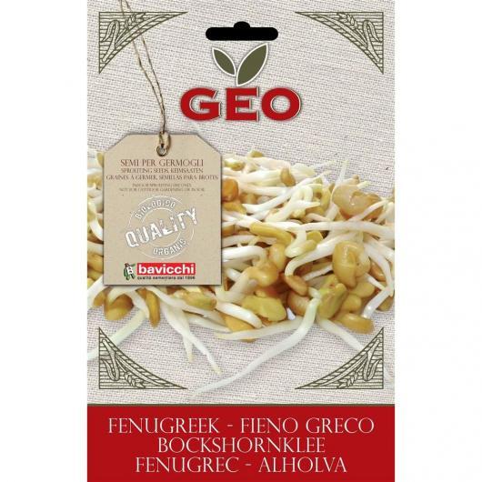 Semillas germinado Heno Griego, bavicchi GEO, 35g