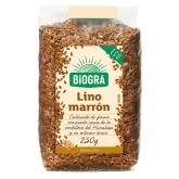 Semi Lino Marrone Biográ, 250 g