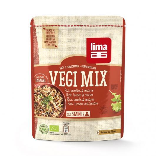 Riso Lenticchie e sesamo Vegi Mix Lima, 250 g