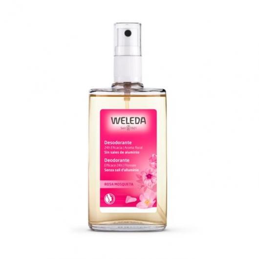 Déodorant à la rose musquée Weleda, 100 ml