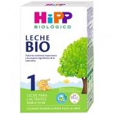 Lait bio Premier Âge 1 (0-6 mois) HIPP, 600 g