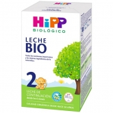 Latte biologico da continuazione 2 ( 6 Mesi ) hipp, 600 g