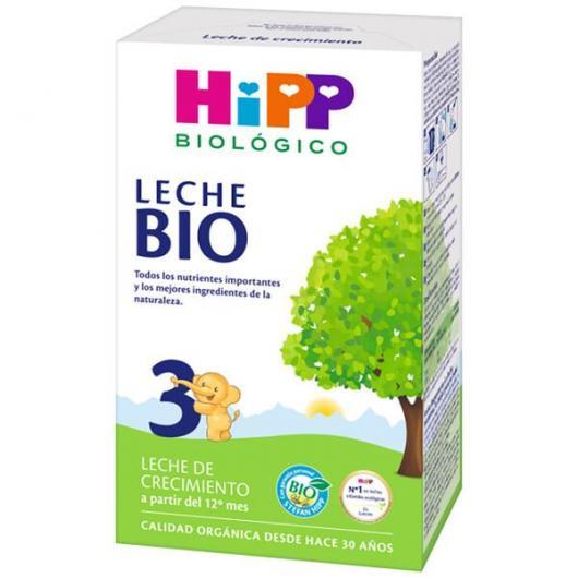 Leche Biológica Continuación 3 (12 Meses) HiPP, 500 g