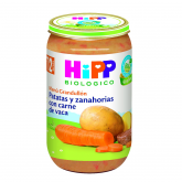 HiPP 12mnths organic potato, carrot & meat babyfood 250g